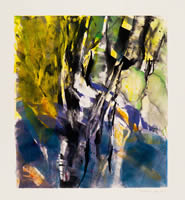 Monotype titled - In the Woods 1