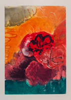 Monotype titled - Summer Heat, 2015