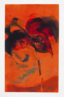 Monotype titled - Fire